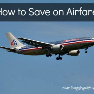 How to save on airfare