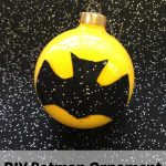 DIY Batman Ornament