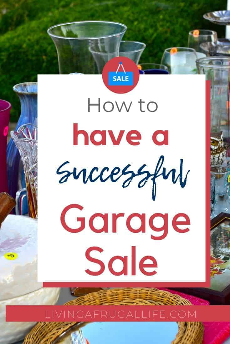 How We Do It: 5 Tips For Garage Sales