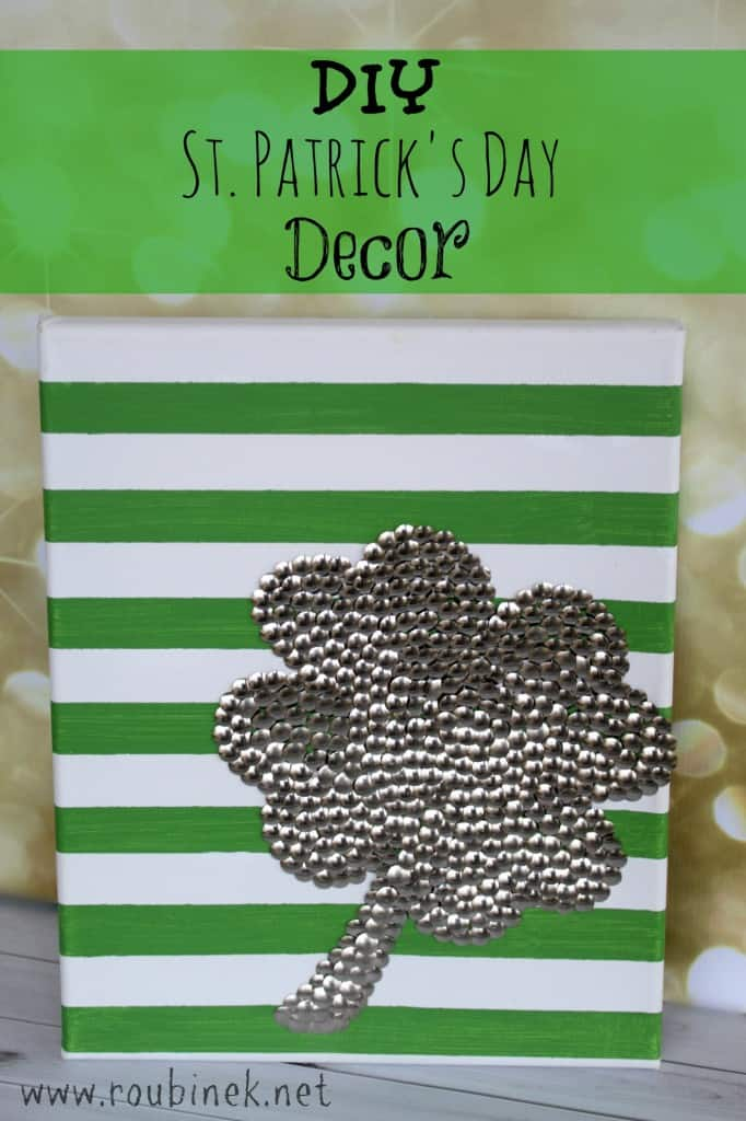 11 diy st patrick 39 s day decorations for your home for Shamrock decorations home