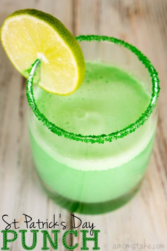 St Patricks Day Punch