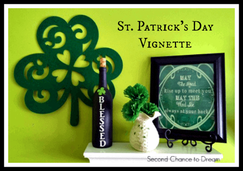 St. Patricks Day Vignette