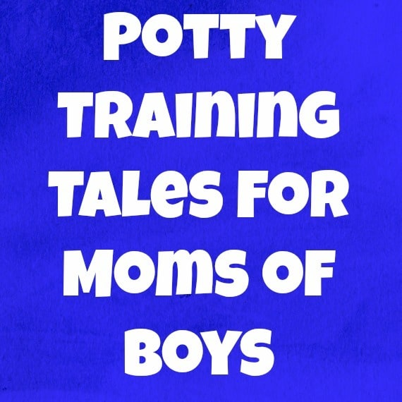 Potty Training Tales for Moms of Boys