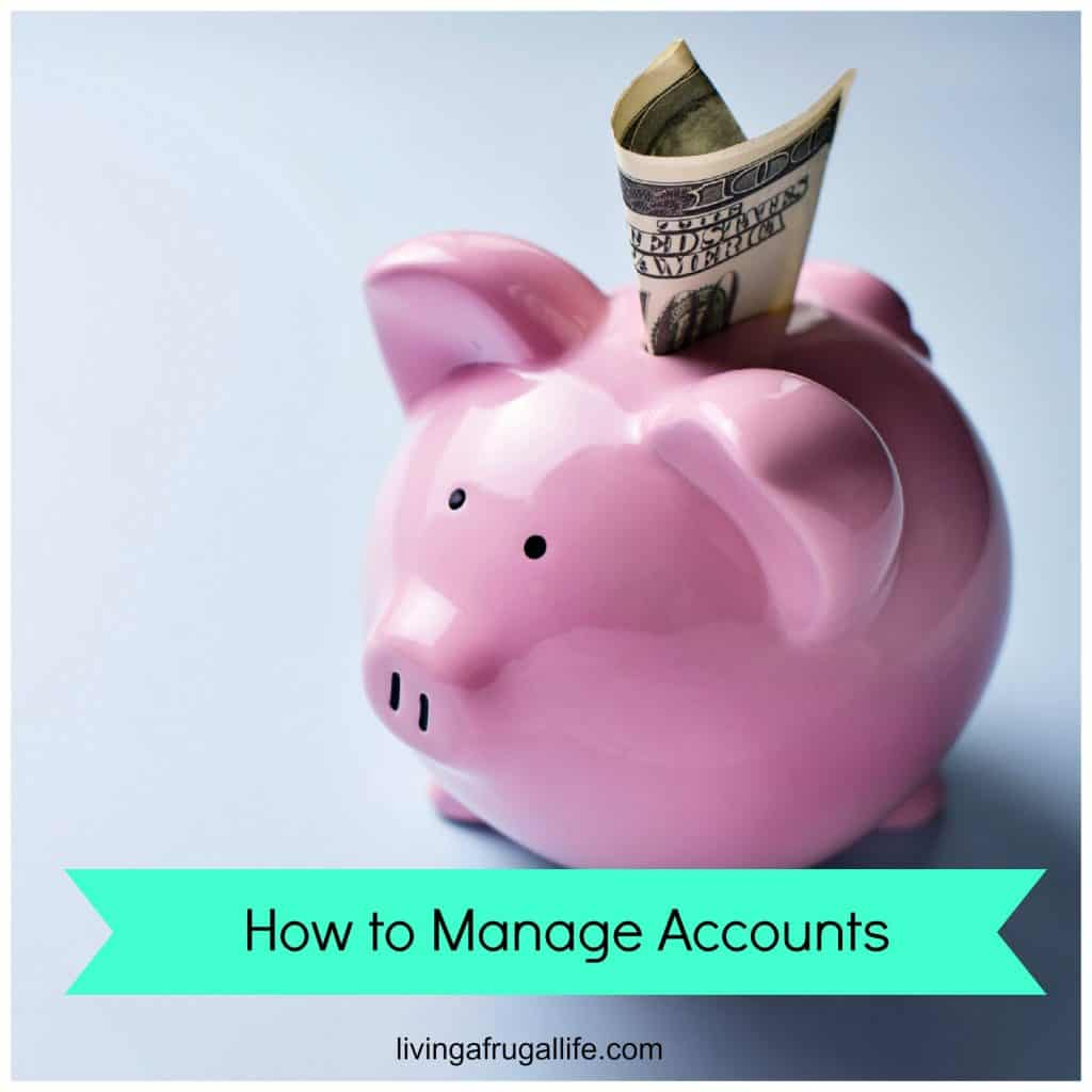 how to manage accounts