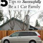 5 Tips to Successfully Be A One-Car Family In A Multi-Car World