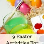 9 Easter Activities For Kids for $5 or Less