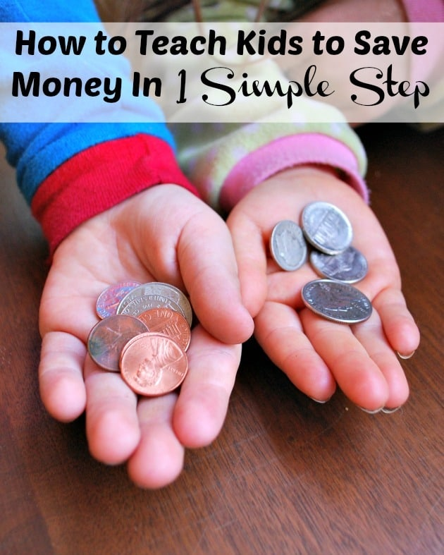 How To Teach Kids To Save Money with 1 simple step that will change your families life forever!