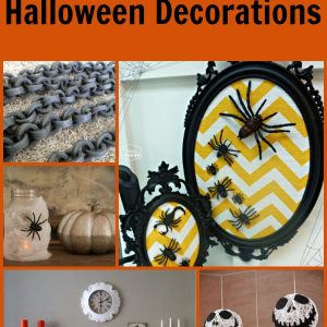 12 DIY Halloween Decorations that you can quickly make and some can even be done with they kids!