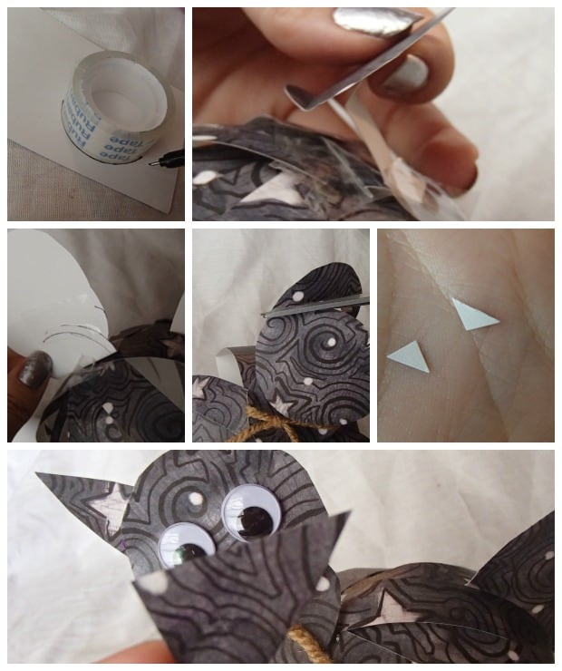 Check out this super simple bat craft you make with paper in under an hour!