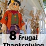 These 8 frugal decorationsto make at home with give you quick and fun decorations for the thanksgiving holiday.