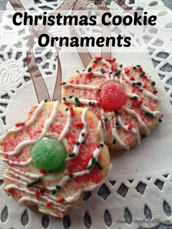 My Favorite DIY Christmas Cookie Ornaments Tutorial