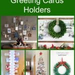 5 DIY Holiday Greeting Cards Holders