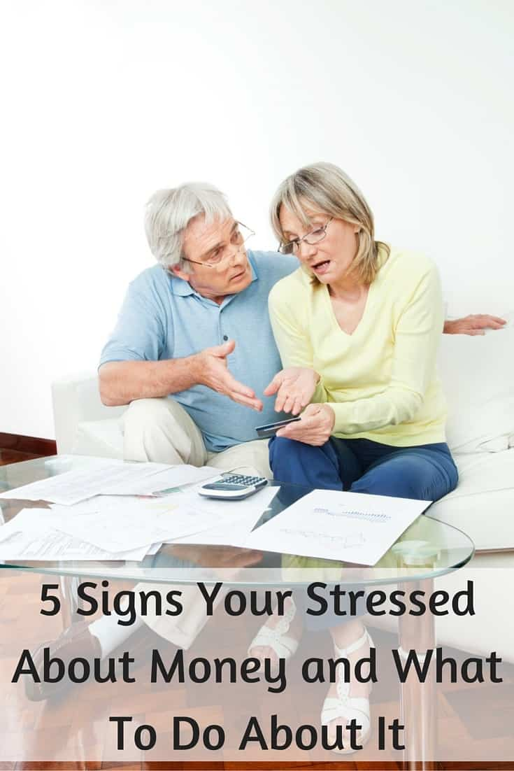 5 Signs You're Stressed About Money and How to De Stress