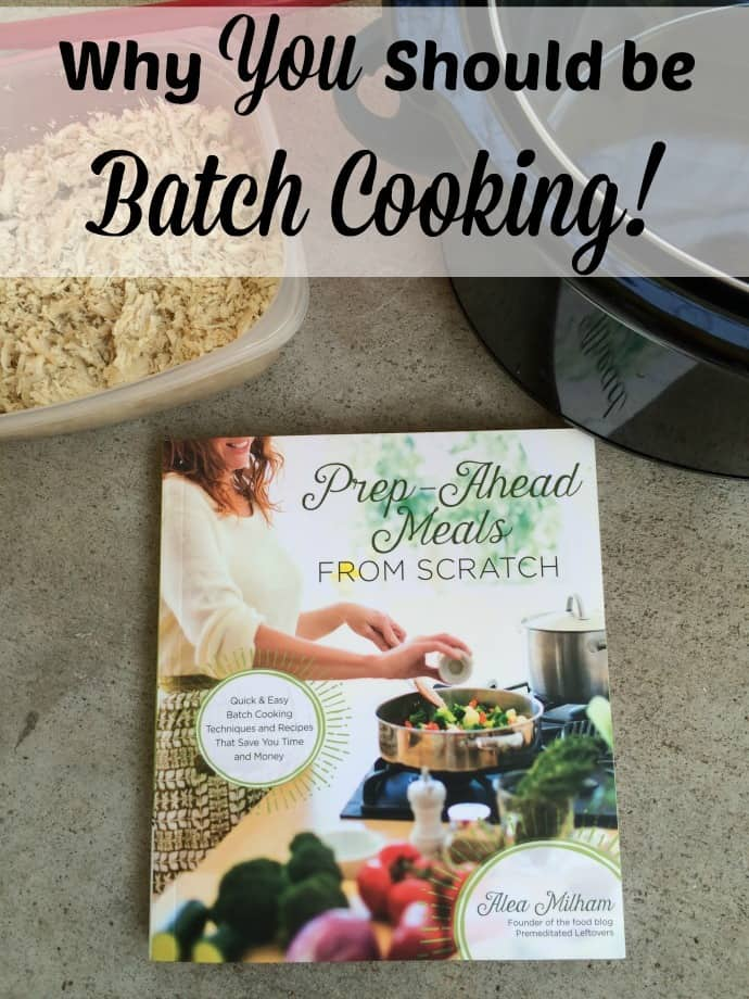Find out why you should be using batch cooking as your method of make ahead meals. Batch cooking in easy and can be done in any kitchen. Find out how to do it and why it will work for everyone!