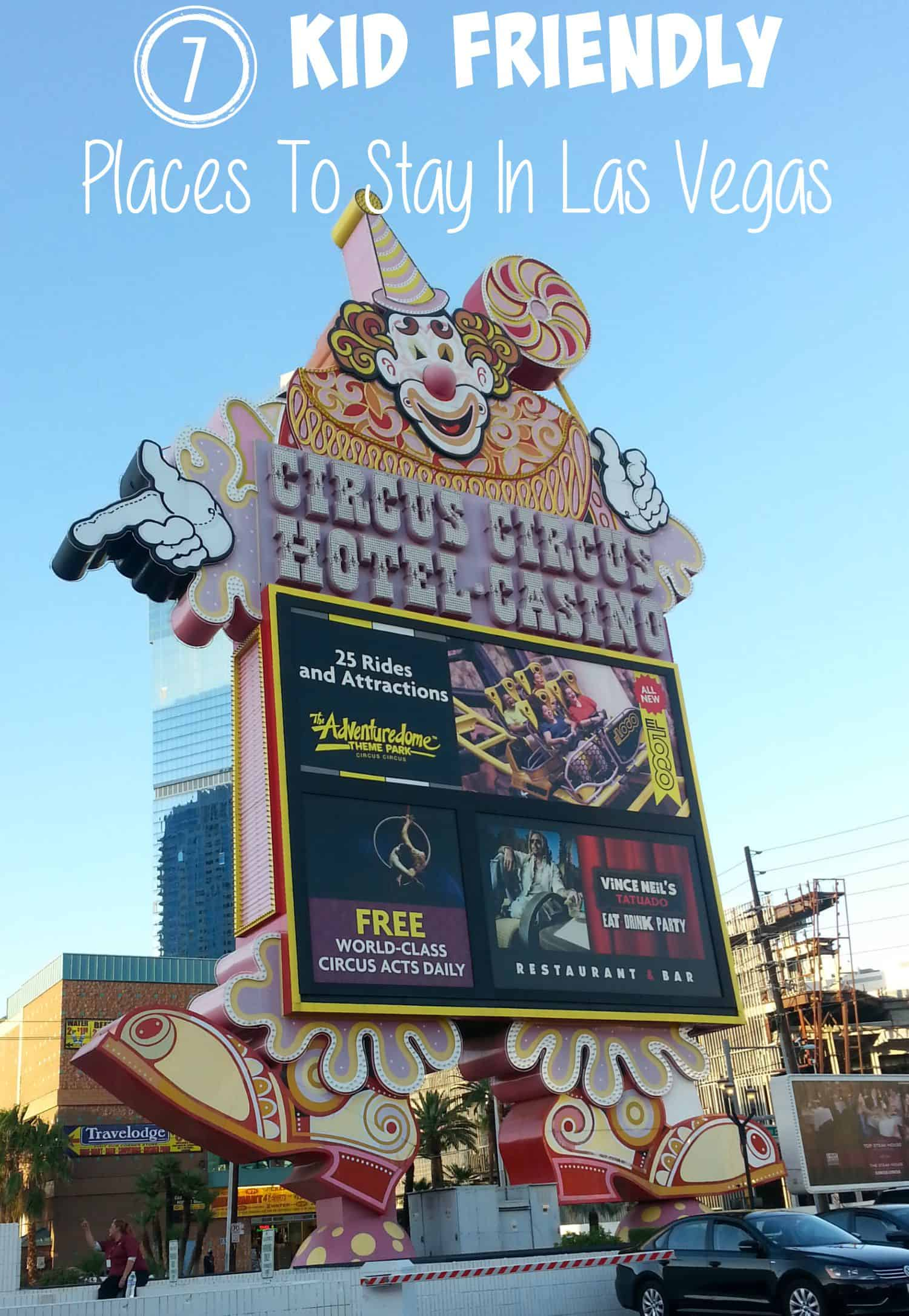 Las Vegas Vacation For Kids