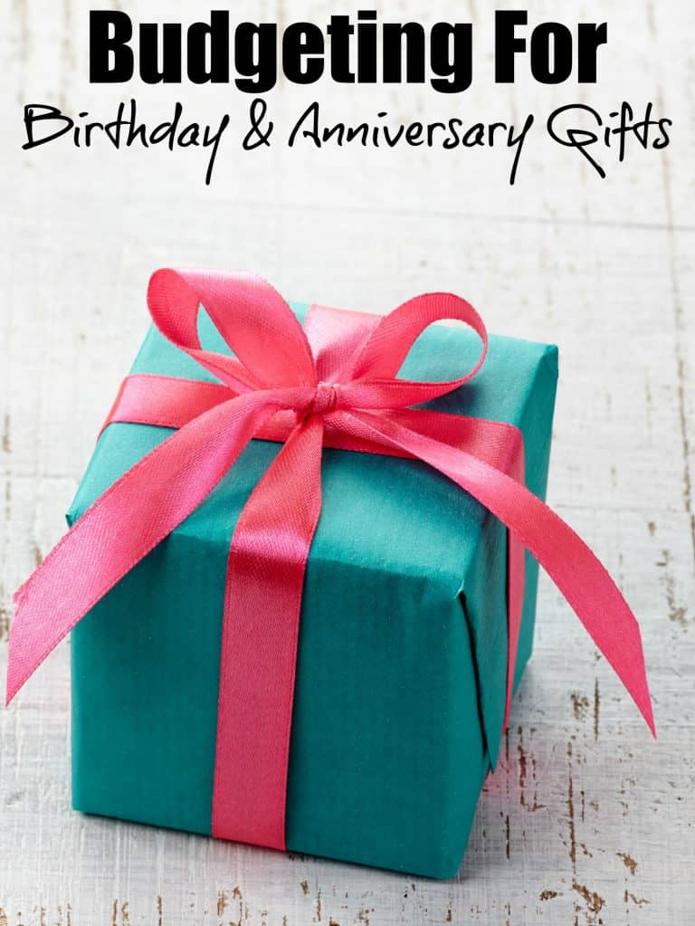 The Best Ways to Save Money For Birthday & Anniversary Gifts