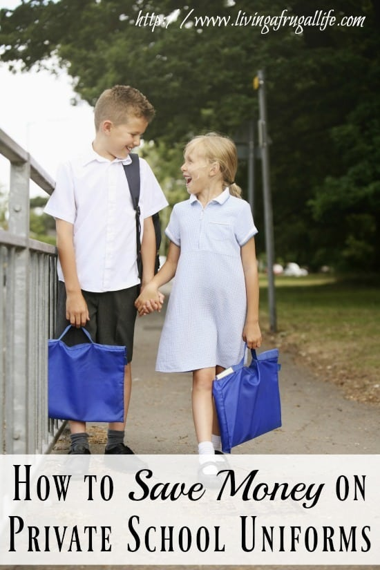 Are you looking for how to save money on private school uniforms? These practical tips will help you save money on new or used uniform items.