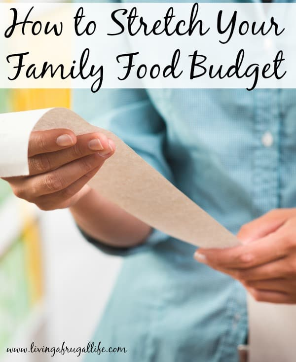 Are you looking for how to stretch your family food budget? These 4 tips will teach you simple ways to stretch your money without missing what you love.