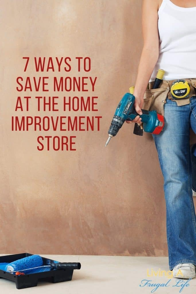 Are you doing home improvements and looking for easy ways to save money at the home improvement store? These tips will help you save as much as possible!