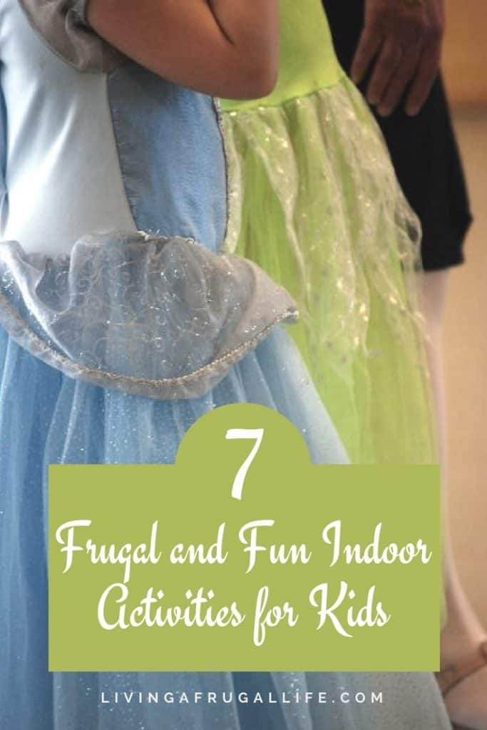 Are you looking for frugal and fun indoor activities for kids? These easy activities help whether it is too hot or cold to go outside.