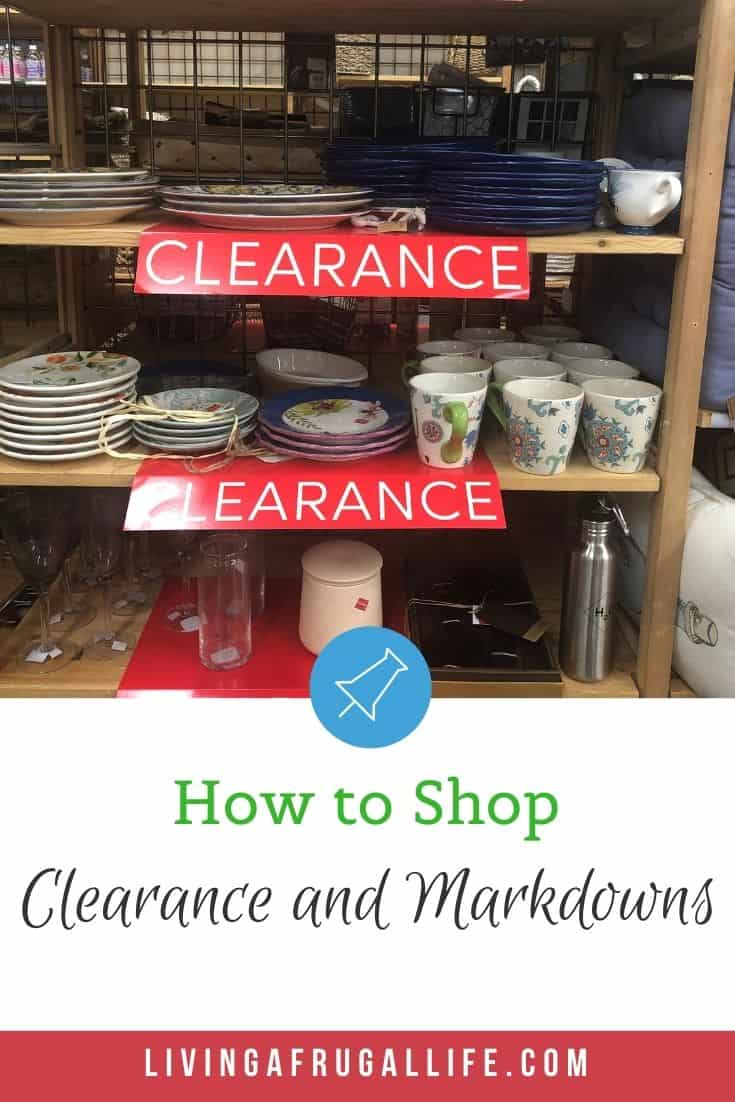 Monthly Grocery Challenge: Using Clearance and Markdowns