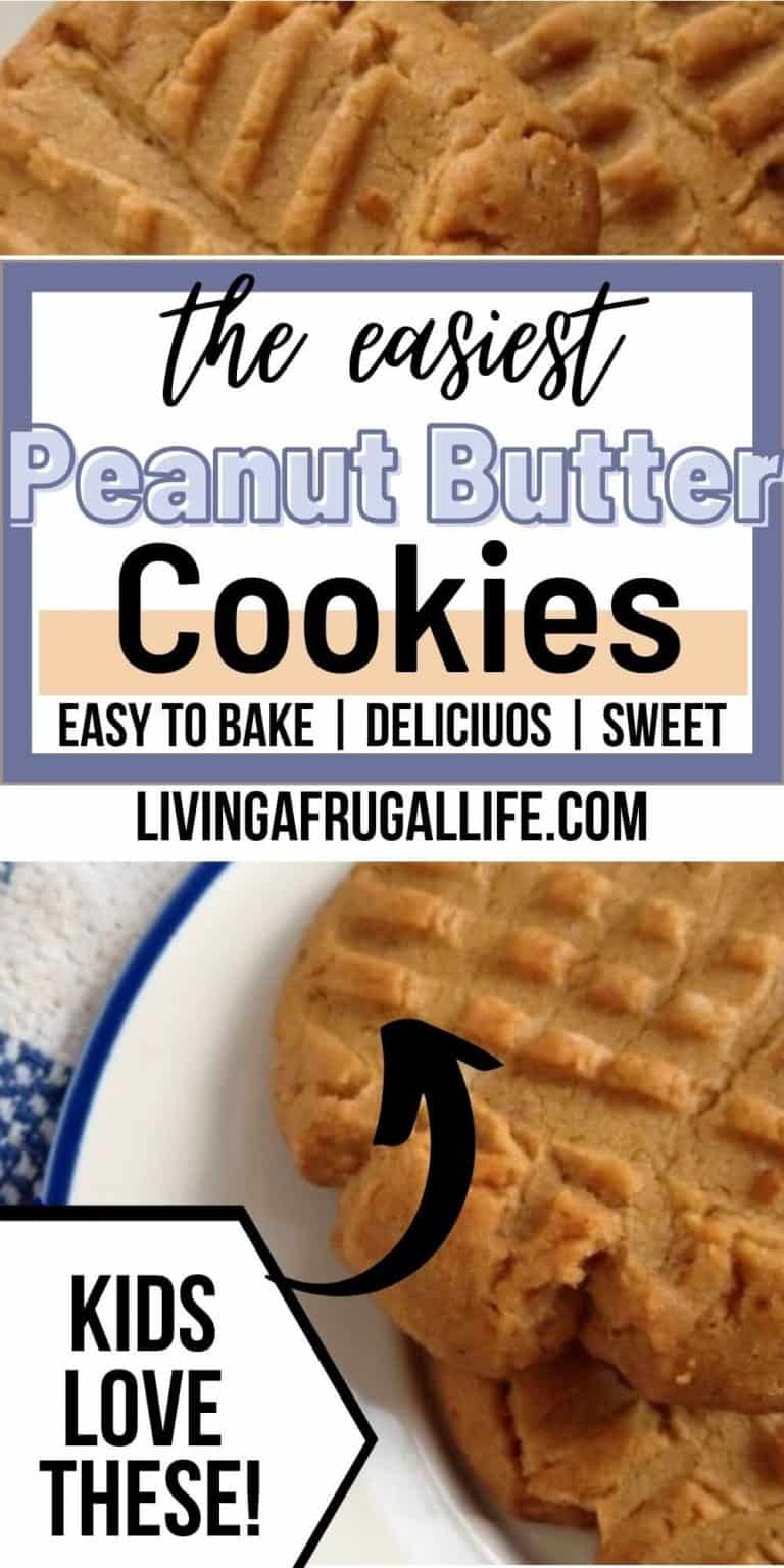 The Best Easy Peanut Butter Cookies Recipe Ever! *Can Be Dairy Free*
